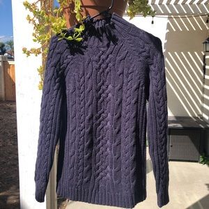 LANDS' END CABLE SWEATER